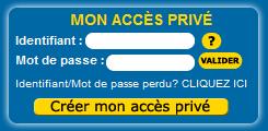 Mon accès privé CSF