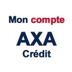 Axa credit Mon compte - www.axa.fr