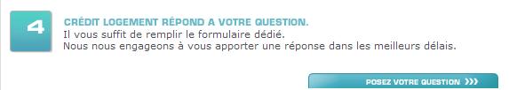 Poser vos questions sur Crédit Logement France