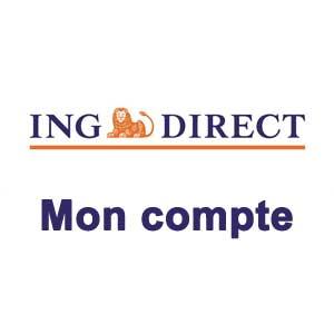 Mon compte ING Direct Acces client sur www.ingdirect.fr