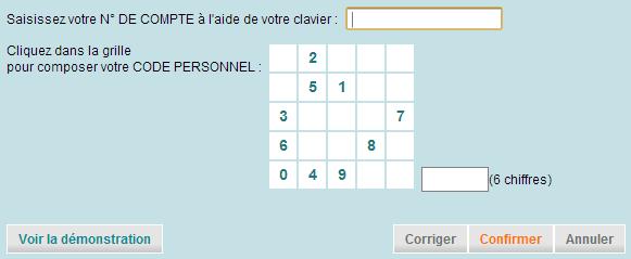 Connectez vous à votre compte du Crédit Agricole du Finistère