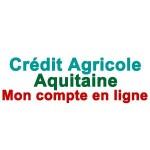 CRCA Aquitaine mon compte en ligne CA Aquitaine